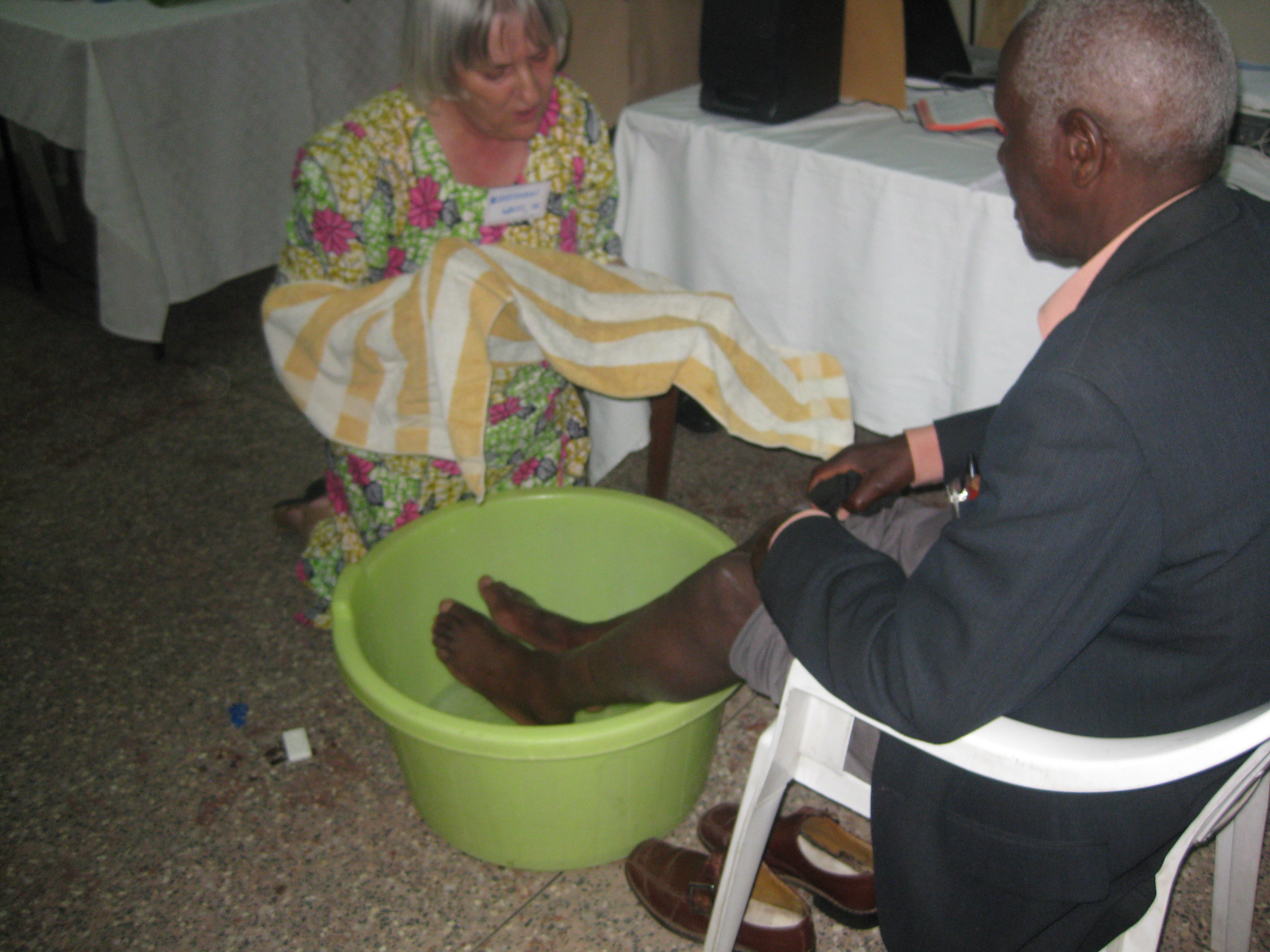 Foot Washing - A Sign of Repentance
