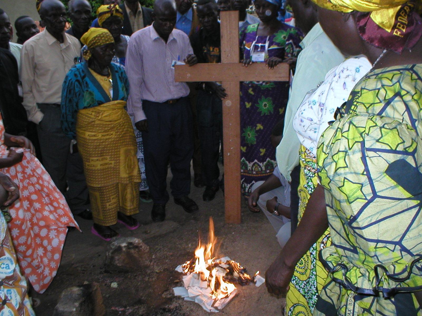 The Burning Ceremony