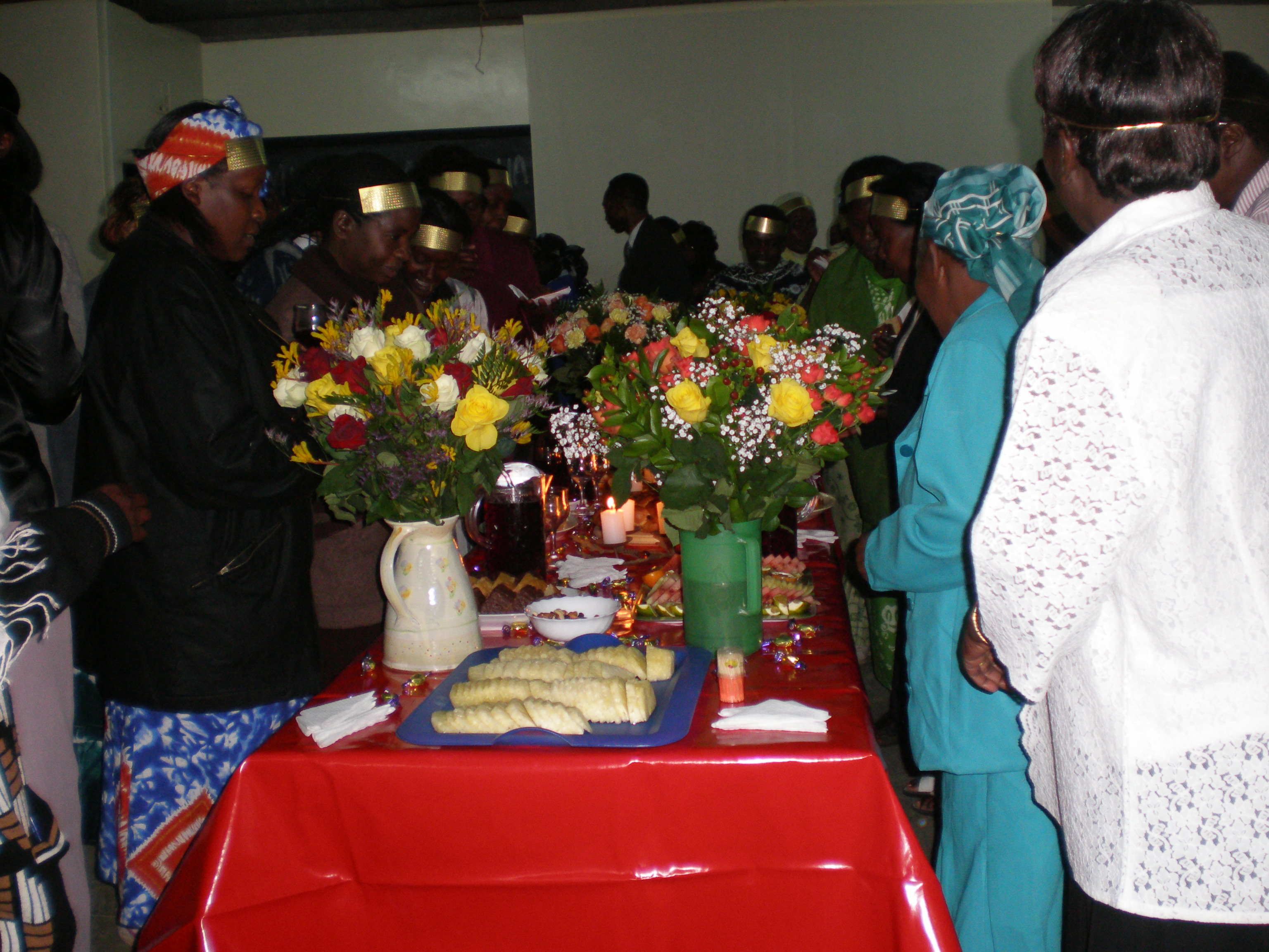 Blessing and Honouring One Another at the King's Table